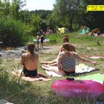 Wochenende in Görzig- Badefreuden