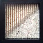 """weiß: 25 x 25 cm, 2013, auf.atmen (1 von 9 Bildern der Serie """"atmen"""""""