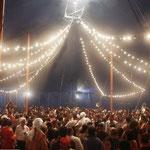 Chapiteau du Festival de Fanfares de Brest 2013