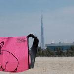 """Das """" HasenBag """" in Dubai"""