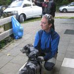 Flo mit dem besten Hund der Welt