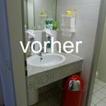 vorher Bild Bad Gäste-WC Badplanung Wellnessbad Innenarchitektur