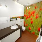 Bad Gäste-WC 3D Perspektive Armatur Dornbracht emote Badplanung Wellnessbad Innenarchitektur