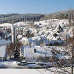 Silbach im Winter