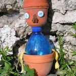 Déco assemblage de pots de Claudine - printemps 2016