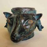 青黒羊鉢 2011年