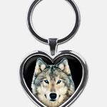 Krafttieranhänger : Wolf (Herz)Dieser Artikel ist derzeit vergriffen