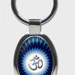 Energieanhänger OM blau (oval)