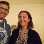 Sourire du Vicaire et d'une coordinatrice à GARCHES (92)
