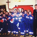 Gründung der Jugendfeuerwehr im Dezember 2000