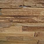 Wandverkleidung Massivholz Teak Natur, S. Fischbacher Living