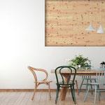 Holz Wandverkleidung Zirbe, selbstklebend