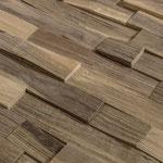 Wandverkleidung Holz, Modell Nussbaum, S. Fischbacher Living