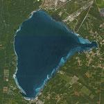 Lac de Sanguinet et Cazaux