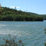 Lac de Carcès ou Lac de Sainte-Suzanne