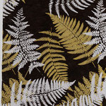 Nepal Papier Farn ebenholz silber gold