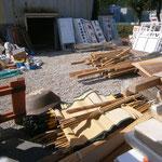天竜観光協会倉庫の整理