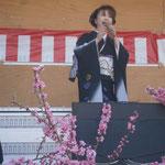 麻倉由美 道の駅「花桃の里」