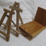 けんジイの木工「ピーカンで作る本立て」など