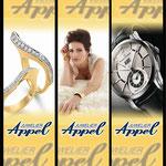 Fahnenentwurf Juwelier Appel