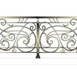 """Балконное ограждение с стиле """"модерн"""". Дизайн Алисова И."""