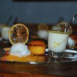 Allerlei Süsses von der Zitrone