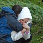 """""""The Naked Lake"""" - Explorationen zu Stimme und Bewegung in der Natur, Bad Saarow 2013"""
