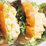 ヤギエルのロングパンでサンドイッチ♪ byスタッフ