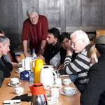 Flüchtlingshilfe im Nachbarschaftscafé