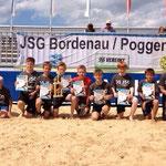 Unsere D1 wurde Turniersieger beim Beach Soccer Cup 2014 in Cuxhaven!