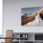"""Dachstein Südwand"" - Picture ID  8113 - Abmessung BxH - 150cm x 100cm - Euro 810,- inkl. MwSt."
