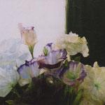 「アトリエの午後の光」 油彩