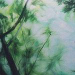 「風の随に(かぜのまにまに)」 油彩