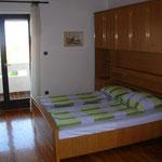 Appartement Obergeschoss (Balkonzimmer)