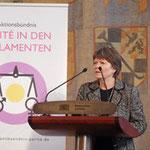 1. Vorsitzende VfF Christa Weigl-Schneider
