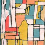 MAPPA DI PACE - 2004 - guache - 38x25