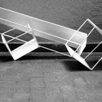 ISOLA 1 - 2014 - acciaio, carta, resina - 30x90x40