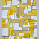 MAPPA DI PACE - 2004 - tecnica mista su carta - 48x33