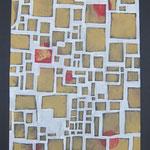 MAPPA - 2015 - tecnica mista su carta - 48x33