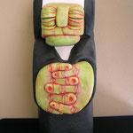GIUDICE - 2006 - calcestruzzo aerato autoclavato, stucco ceramico - 64x26x25