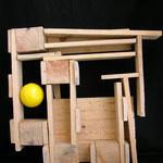 CONDOMINIO - 2006 - legno di recupero - 57x53x22