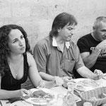 Aurelie Tropez,philippe Milanta et Didier Desbois