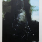 """Annedore Dietze · """"Variation I, b"""", Öl und Tempera auf Leinwand 200 x 160 cm, 2011"""