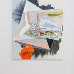 Maja Rohwetter · dissociative disposition, Öl auf Leinwand, 2017