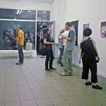 Jeder mit Jedem | Opening exhibition view