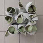 Gabriele Künne · Standhaft, Keramik glasiert, 2017
