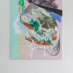 Maja Rohwetter · pending elevation, Öl auf Leinwand, 2017