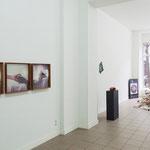 "Heike Hamann · ""ohne Titel"", 2016 | Gabriele Künne · ""Brücke"", 2015 | Gabriele Künne · ""Exil"", 2015"