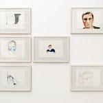 """Esther Horn · """"Peter"""", Farbstift auf Papier, 2012"""
