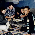 Couscous-Essen bei Zaid